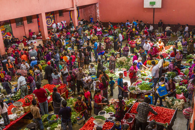 Market day in Chichicastenango