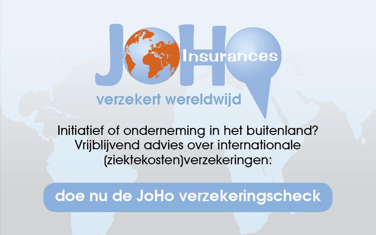 JoHo Insurances verzekert wereldwijd