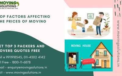 Top Factors Affecting the Prices Of Moving