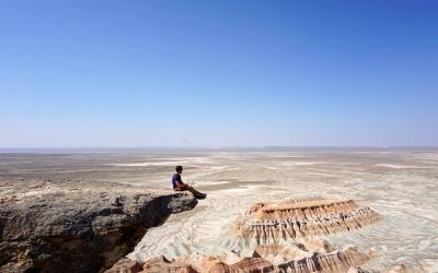 Yangkala Canyon in Turkmenistan