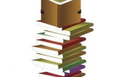 stapel schoolboeken