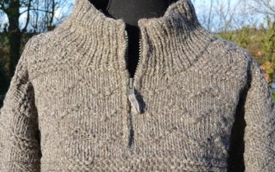 warme wollen trui