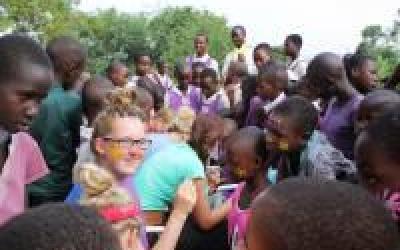 Eerste jaar, eerste week in Uganda