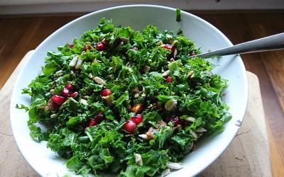 Foto van boerenkoolsalade