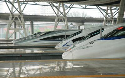 China high speed trains