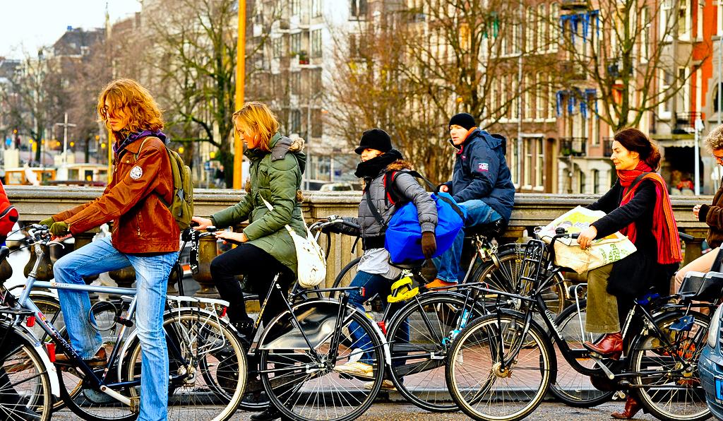 Fietsen in Amsterdam